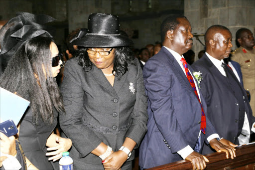 Ida Odinga loses round one in fight for Fidel property