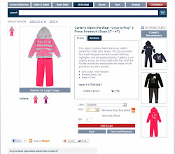 Photo: With Valentine's Day coming up, I thought this outfit would be adorable.  I picked the appropriate size and added it to my cart.