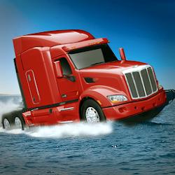 Water Floating Truck Trailer
