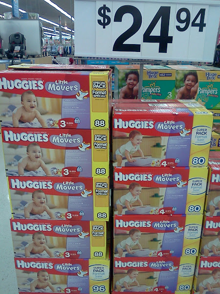 Photo: I was looking for Huggies Snug & Dry diapers. These Little Movers are great, too.