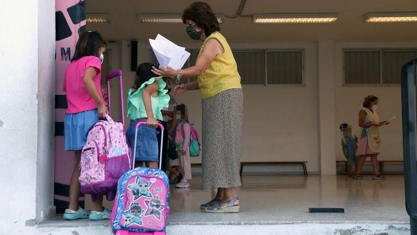 Imagen de archivo de un colegio andaluz.