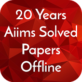 20 Years Aiims Solved Papers Offline