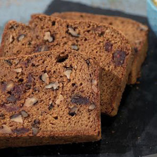 Pumpkin Bread with Dates & Walnuts