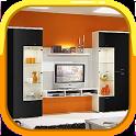 Shelves TV Furniture : Shelves Tv Design icon