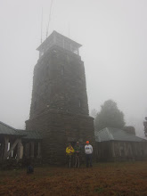 Photo: The tower was so cool.  The mist was also cool.