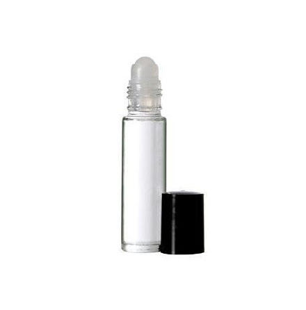 Glasflaska med roller - 10 ml