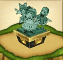 テレーゼ・ツユハ・コリンの像