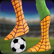 Spiderman Winner Soccer League Dream Strike Hero