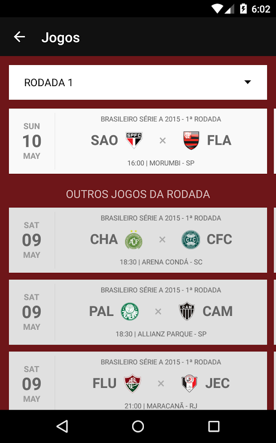 Flamengo SporTV- screenshot