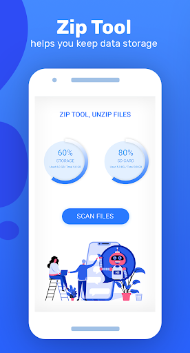 Zip app: Zip Tool, Unzip Files cheat hacks