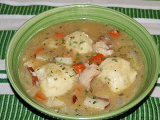 Chicken Stew Francais With Parsley Dumplings Recipe
