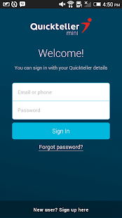 Quickteller Mini- screenshot thumbnail