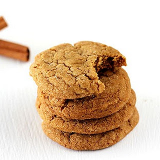 Soft Ginger Molasses Cookies.