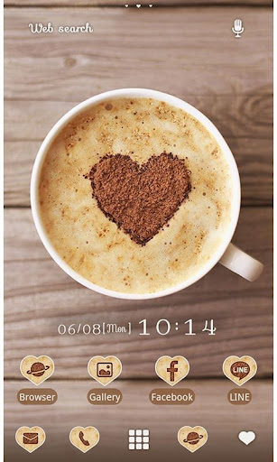 Cute Theme-Heart Latte- 1.0.0 Windows u7528 1