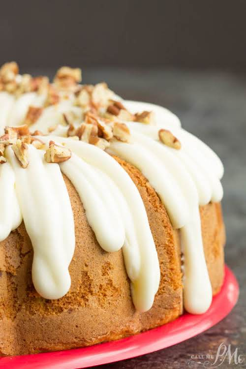 "Pecan Banana Cake Mix Cake ""There's nothing like biting into a fresh-baked..."
