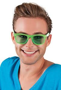 Glasögon dance, gröna