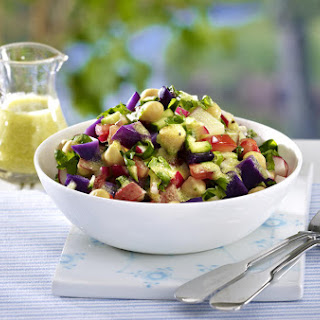 Purple and Red Potato Salad.