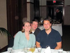 Photo: Elaine and Josh Webb and Elaine's Dad, Tom Hadley