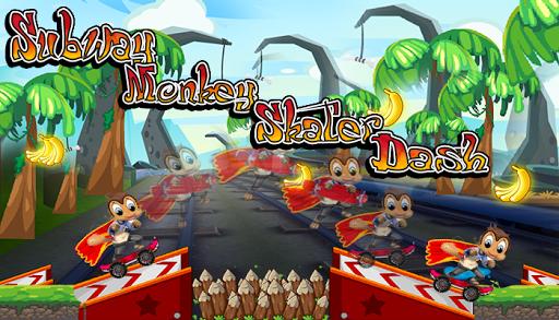 Subway Monkey Skater Dash
