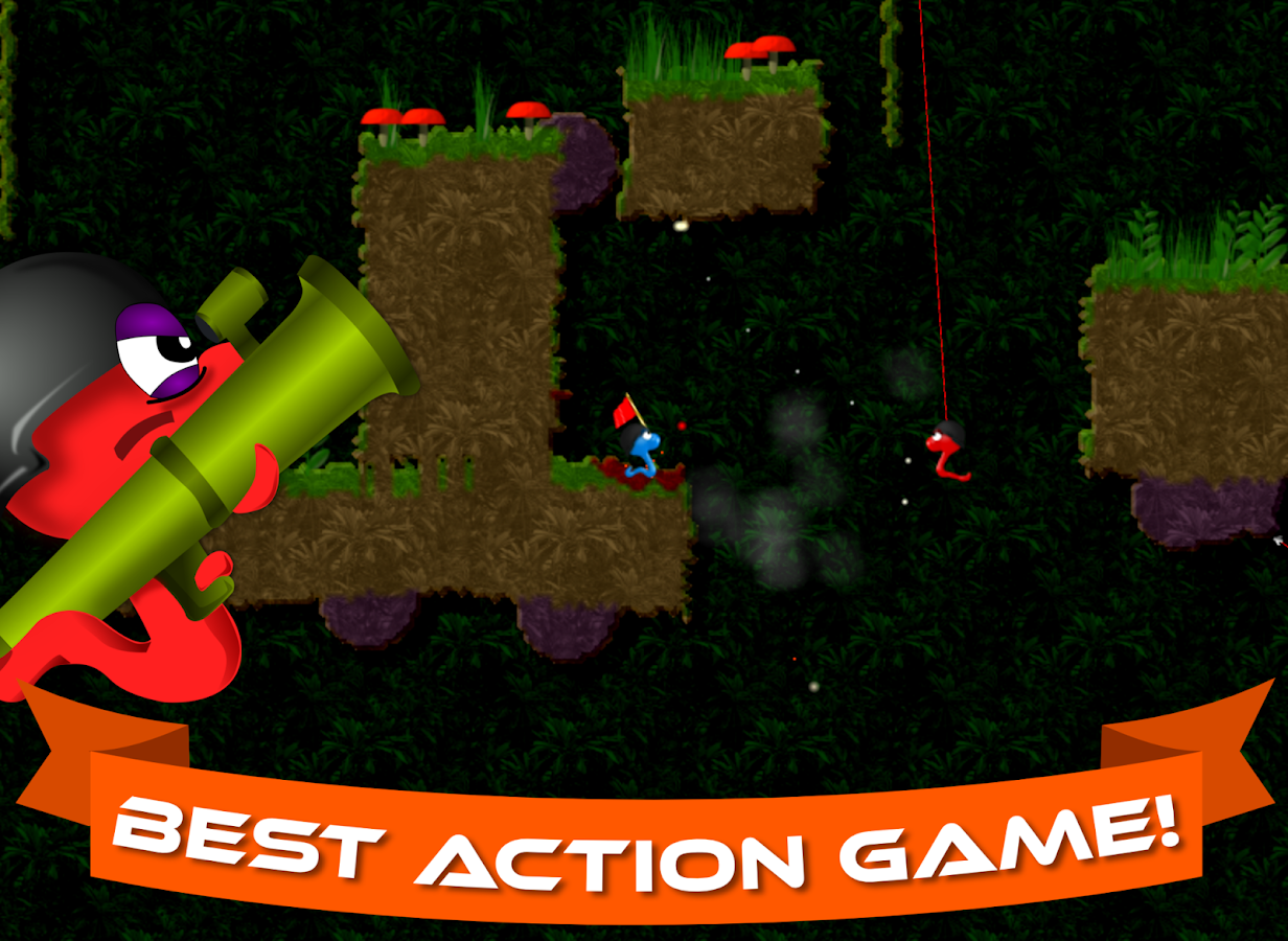 Annelids: Online battle- screenshot