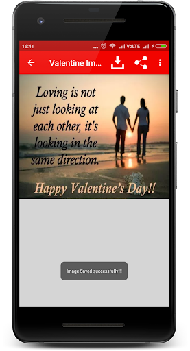 Valentine Day Image Greetings 1.1 screenshots 3