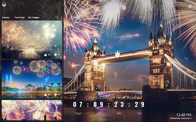 new year countdown 2019 celebration