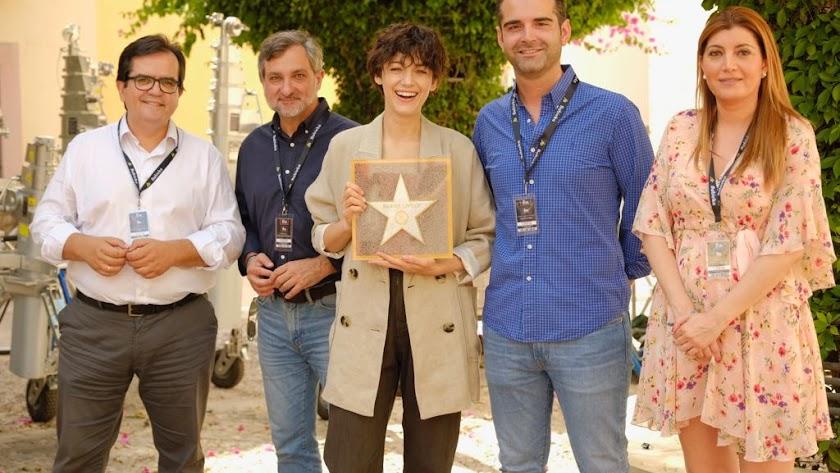 La actriz Blake Lively, nueva estrella del Paseo de la Fama