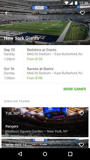 SeatGeek Event Tickets for PC