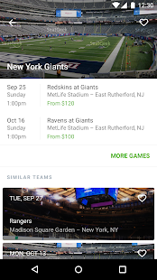 SeatGeek Event Tickets- screenshot thumbnail
