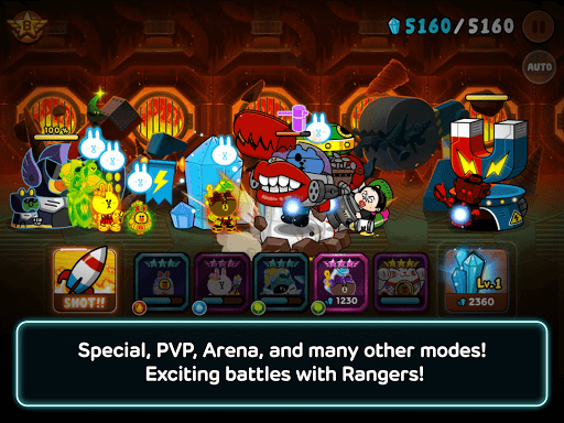 Code Triche LINE Rangers - simple rules, exciting RPG battles! APK MOD screenshots 6