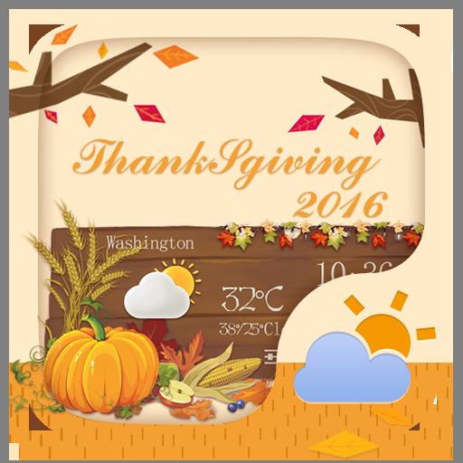 Thanksgiving GO Weather Widget