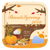 Thanksgiving GO Weather Widget