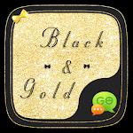 (FREE) GO SMS GOLD&BLACK THEME 6.1.1 Apk