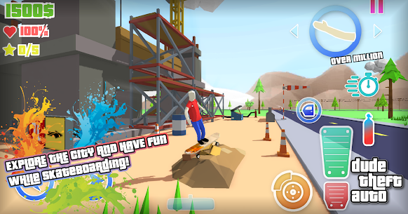 Dude Theft Wars Mod Apk 0.9.0.3 (Free Shopping) 8