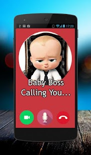 Fake Call Baby Boss - náhled
