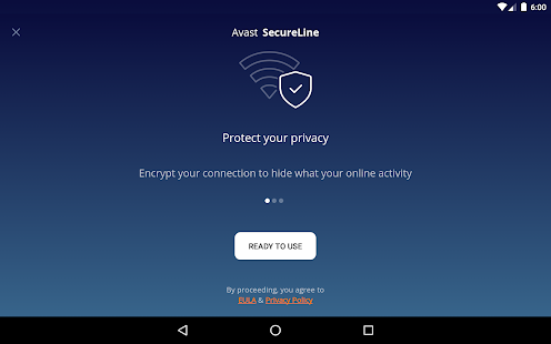 VPN Proxy by Avast SecureLine - Anonymous Security Screenshot