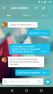 Messages + SMS Screenshot