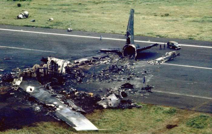 27 марта 1977 года, Столкновение в аэропорту Лос-Родеос