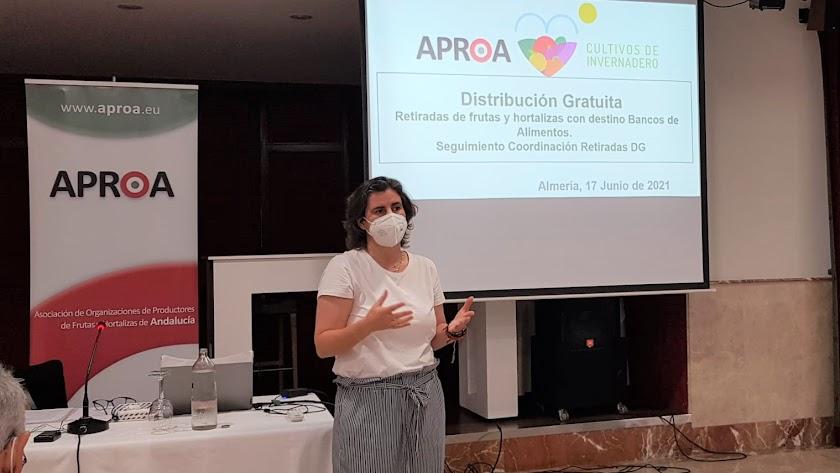 Imagen de la reunión de APROA.