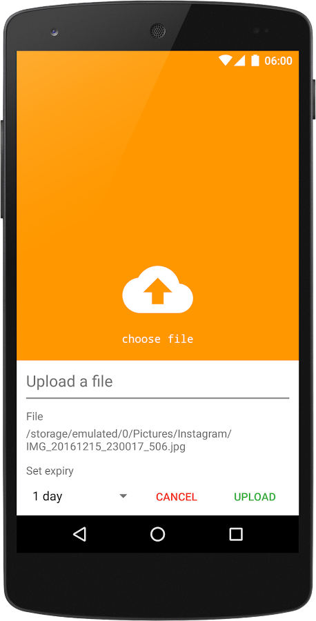 Boxca - Fast File Upload- screenshot