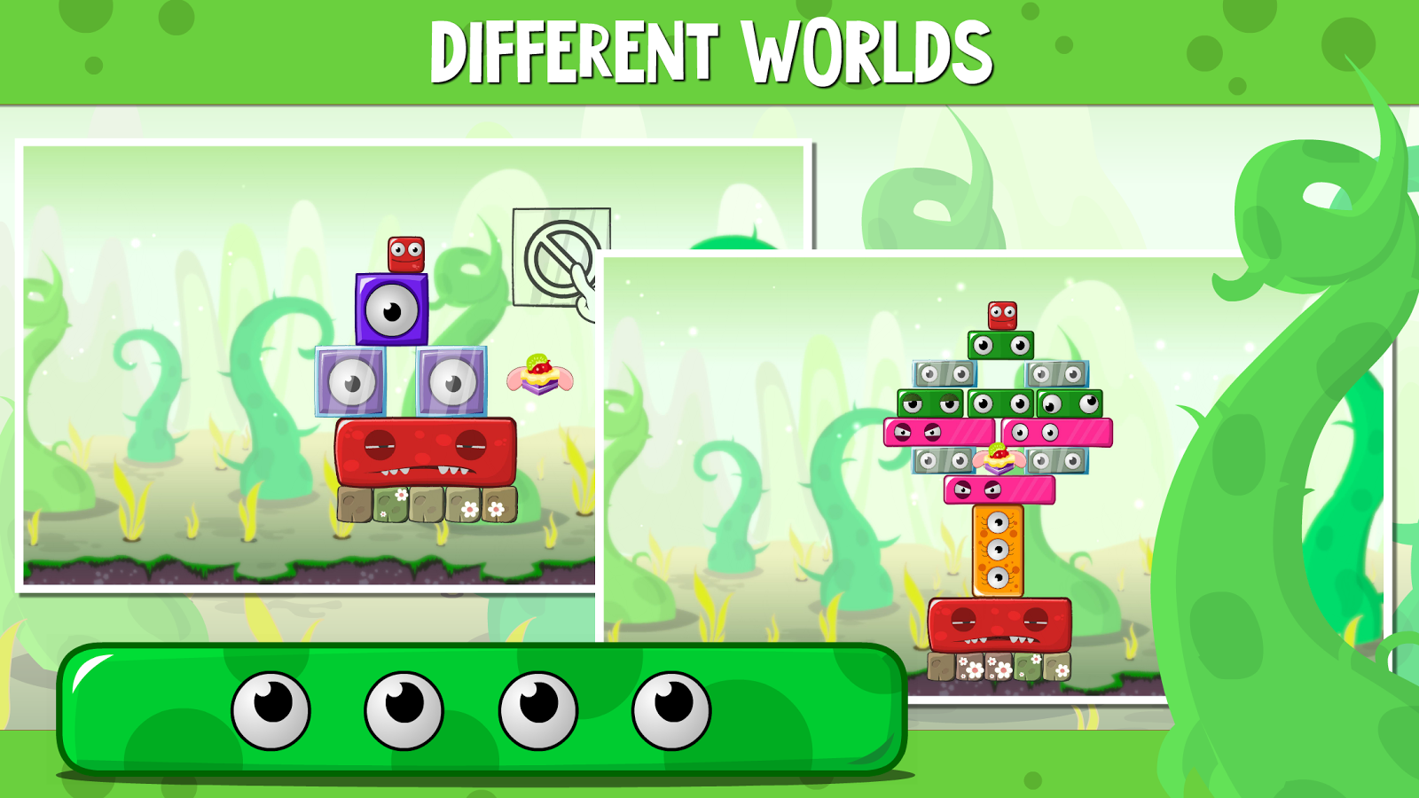 Monsterland. Fairy Tales: logic puzzle family game- screenshot