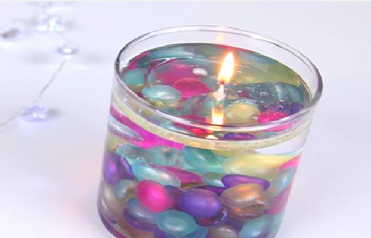 Create a stunning 'water candle' that will impress your guests right at home. Here's how