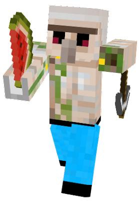 Protector of villagers and eater of watermelons.
