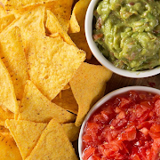 Salsa, Guacamole & Chips