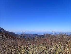 西側に琵琶湖が見え