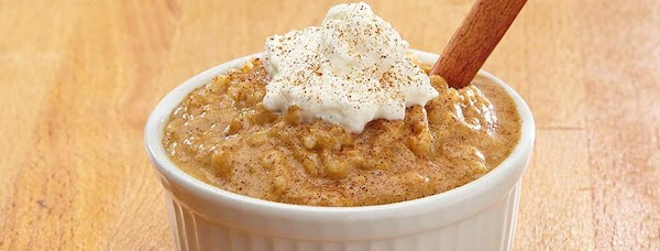 Pumpkin Pie Rice Pudding Recipe