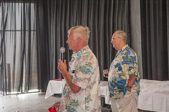 Photo: Dick Croxall & Tony Voogd