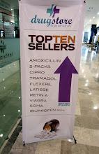 Photo: Turistirihkaman (ja timanttien) lisäksi Meksikosta ilmeisesti on tapana ostaa lääkkeitä (reseptiä ei kukaan olisi kysellyt)