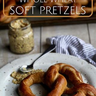 Whole Wheat Soft Pretzels.