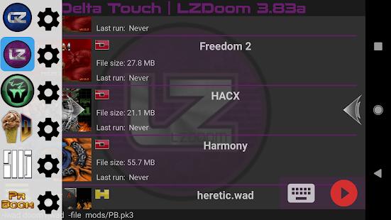 Delta Touch [6 x Doom engine source port] Mod